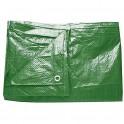 Blachen 3x 4m grün 65gr/m2