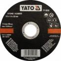 Vágókorong kő 125x1,5mm 5db. YATO