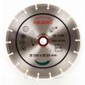 Gyémántkorong szegmenses 230mm száraz uni.