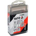 """Bit szett 10r. vegyes CV YATO 25mm 1/4"""""""