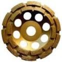 Gyémántcsiszoló korong 125x22,23mm